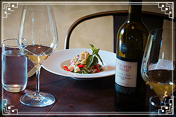 Enjoy a great meal with Hawkes Bay Scenic Tours at Church-Rd-Winery