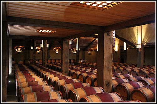 Wine taste in this lovely Cellar setting with Hawkes Bay Scenic Tours