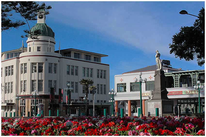 Enjoy learning about Napier's world famous Art Deco
