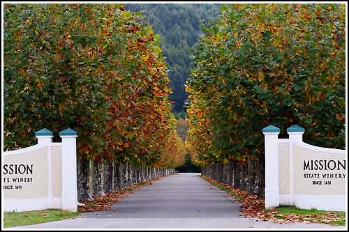 Visit the Mission Estate Winery on all Hakes Bay Scenic Tours Napier Wine Tours