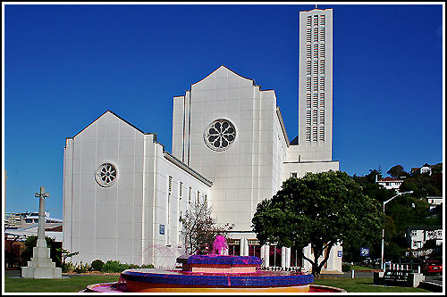 Art Deco Cathedral as seen on tour with Hawkes Bay Scenic Tours