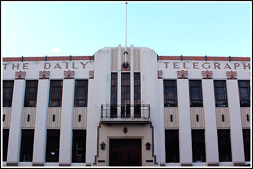 Spectacular Art Deco buildings with Hawkes Bay Scenic Tours