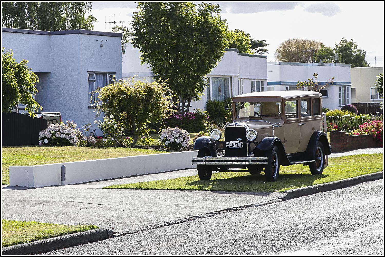 Streets of Art Deco homes