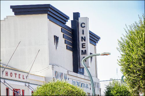 Hastings Art Deco Cinema building