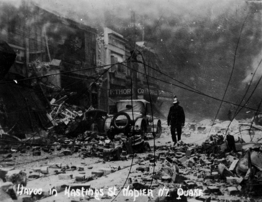 The huge 1931 earthquake that created Napier as it is today