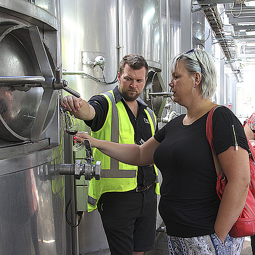 Enjoy wine tasting directly from tanks on this Ultimate Wine Experience tour