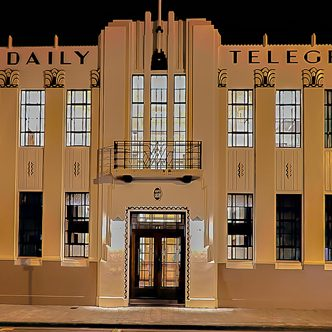 Great example of Napier's Art Deco on this Premium Hawkes Bay Shore Excursion